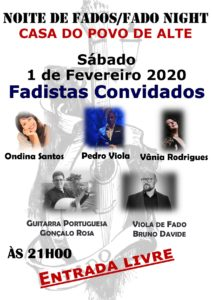 Noite de Fados /fado night